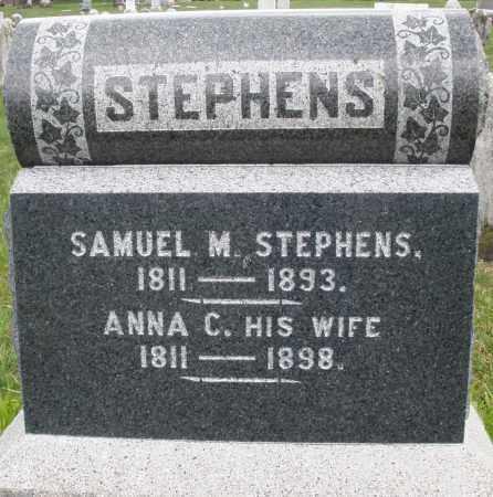 STEPHENS, SAMUEL M. - Montgomery County, Ohio   SAMUEL M. STEPHENS - Ohio Gravestone Photos