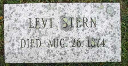 STERN, LEVI - Montgomery County, Ohio   LEVI STERN - Ohio Gravestone Photos