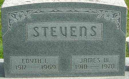 STEVENS, JAMES W - Montgomery County, Ohio | JAMES W STEVENS - Ohio Gravestone Photos