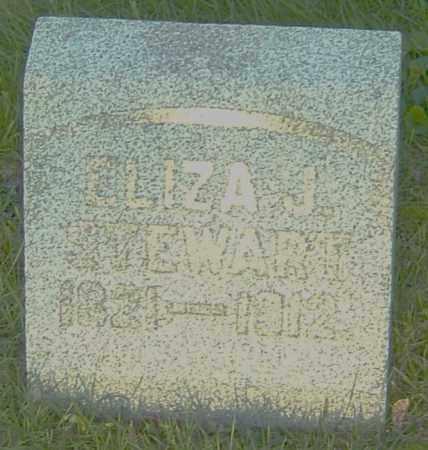 STEWART, ELIZA J - Montgomery County, Ohio | ELIZA J STEWART - Ohio Gravestone Photos