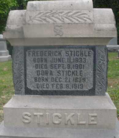 STICKLE, FREDERICK - Montgomery County, Ohio | FREDERICK STICKLE - Ohio Gravestone Photos