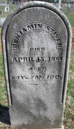 STIVER, BENJAMIN - Montgomery County, Ohio | BENJAMIN STIVER - Ohio Gravestone Photos