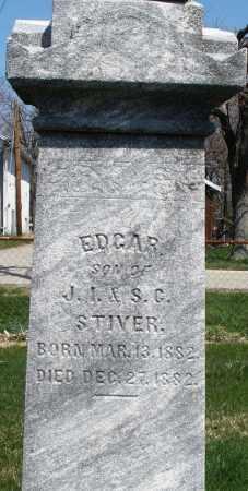 STIVER, EDGAR - Montgomery County, Ohio | EDGAR STIVER - Ohio Gravestone Photos