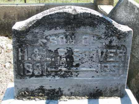 STIVER, INFANT SON - Montgomery County, Ohio | INFANT SON STIVER - Ohio Gravestone Photos