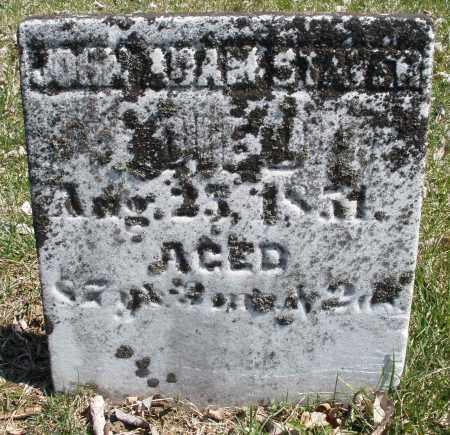 STIVER, JOHN ADAM - Montgomery County, Ohio | JOHN ADAM STIVER - Ohio Gravestone Photos