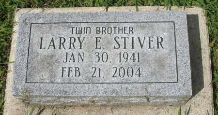 STIVER, LARRY E. - Montgomery County, Ohio   LARRY E. STIVER - Ohio Gravestone Photos