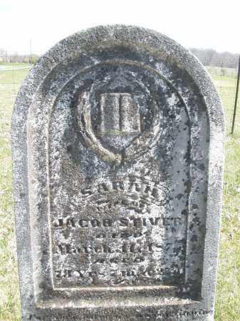 STIVER, SARAH - Montgomery County, Ohio | SARAH STIVER - Ohio Gravestone Photos