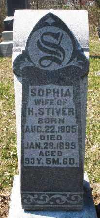 STIVER, SOPHIA - Montgomery County, Ohio | SOPHIA STIVER - Ohio Gravestone Photos