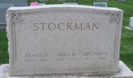 STOCKMAN, DANIEL N - Montgomery County, Ohio | DANIEL N STOCKMAN - Ohio Gravestone Photos