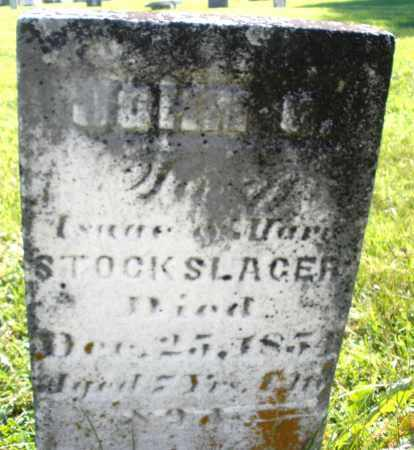 STOCKSLAGER, JOHN - Montgomery County, Ohio | JOHN STOCKSLAGER - Ohio Gravestone Photos