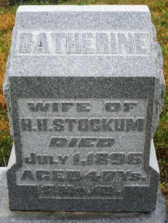 STOCKUM, CATHERINE - Montgomery County, Ohio | CATHERINE STOCKUM - Ohio Gravestone Photos