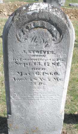 STOEVER, ANNA - Montgomery County, Ohio   ANNA STOEVER - Ohio Gravestone Photos