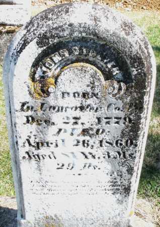 STOEVER, JOHN - Montgomery County, Ohio | JOHN STOEVER - Ohio Gravestone Photos