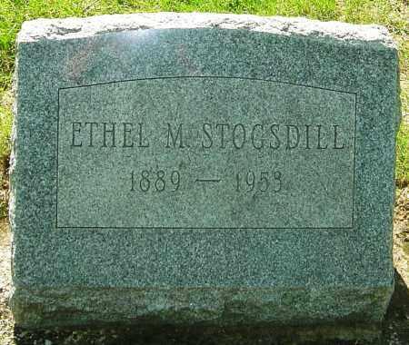 HEGLIN STOGSDILL, ETHEL MAUDE - Montgomery County, Ohio   ETHEL MAUDE HEGLIN STOGSDILL - Ohio Gravestone Photos