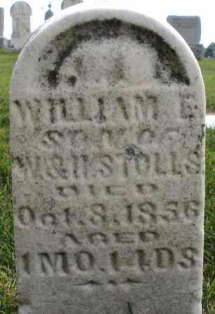 STOLLS, WILLIAM E. - Montgomery County, Ohio | WILLIAM E. STOLLS - Ohio Gravestone Photos