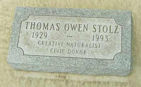 STOLZ, THOMAS OWEN - Montgomery County, Ohio | THOMAS OWEN STOLZ - Ohio Gravestone Photos