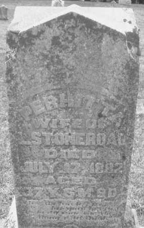 STONEROAD, PERTHITTA - Montgomery County, Ohio | PERTHITTA STONEROAD - Ohio Gravestone Photos