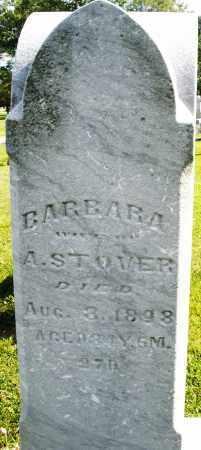 STOVER, BARBARA - Montgomery County, Ohio | BARBARA STOVER - Ohio Gravestone Photos