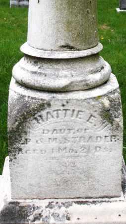 STRADER, HATTIE E. - Montgomery County, Ohio | HATTIE E. STRADER - Ohio Gravestone Photos