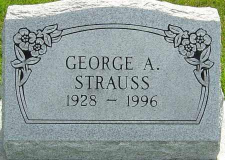 STRAUSS, GEORGE A - Montgomery County, Ohio | GEORGE A STRAUSS - Ohio Gravestone Photos