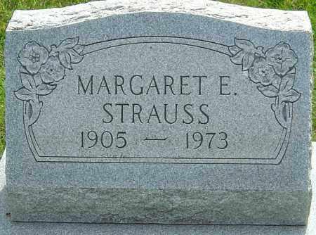 STRAUSS, MARGARET E - Montgomery County, Ohio   MARGARET E STRAUSS - Ohio Gravestone Photos