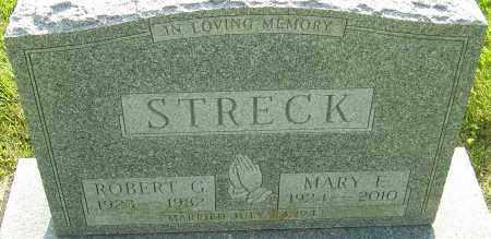 STRECK, MARY E - Montgomery County, Ohio | MARY E STRECK - Ohio Gravestone Photos