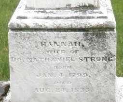 STRONG, HANNAH - Montgomery County, Ohio | HANNAH STRONG - Ohio Gravestone Photos