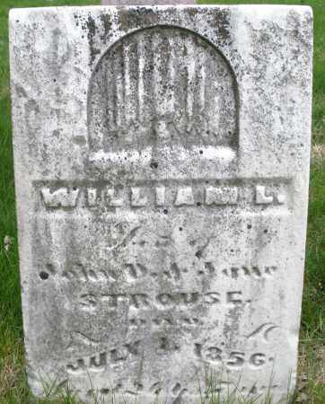 STROUSE, WILLIAM L. - Montgomery County, Ohio | WILLIAM L. STROUSE - Ohio Gravestone Photos