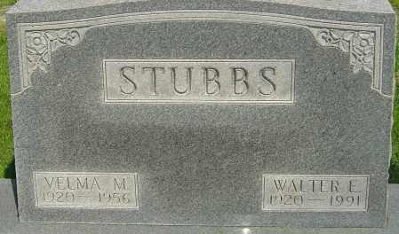 STUBBS, WALTER EUGENE - Montgomery County, Ohio   WALTER EUGENE STUBBS - Ohio Gravestone Photos
