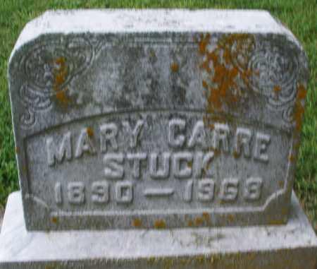 CARRE STUCK, MARY - Montgomery County, Ohio | MARY CARRE STUCK - Ohio Gravestone Photos