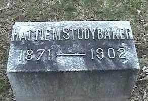 STUDYBAKER, HATTIE M. - Montgomery County, Ohio | HATTIE M. STUDYBAKER - Ohio Gravestone Photos