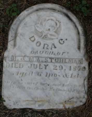 STUHLMAN, DORA C. - Montgomery County, Ohio   DORA C. STUHLMAN - Ohio Gravestone Photos