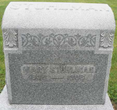 STUHLMAN, MARY - Montgomery County, Ohio | MARY STUHLMAN - Ohio Gravestone Photos