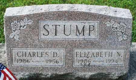 STUMP, ELIZABETH N. - Montgomery County, Ohio | ELIZABETH N. STUMP - Ohio Gravestone Photos