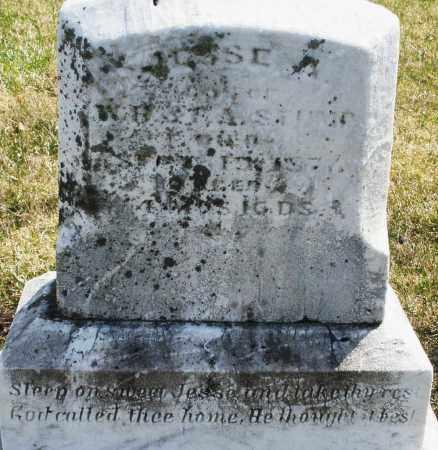 STUMP, JESSE - Montgomery County, Ohio | JESSE STUMP - Ohio Gravestone Photos