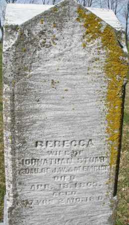 STUMP, REBECCA - Montgomery County, Ohio | REBECCA STUMP - Ohio Gravestone Photos