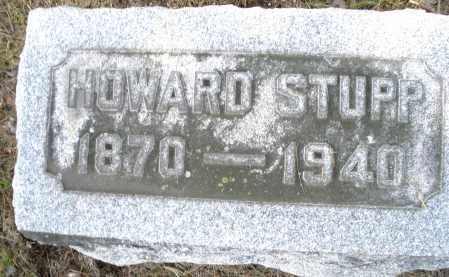 STUPP, HOWARD - Montgomery County, Ohio | HOWARD STUPP - Ohio Gravestone Photos