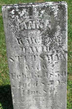 STUTSMAN, ANNA - Montgomery County, Ohio   ANNA STUTSMAN - Ohio Gravestone Photos