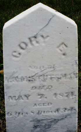 STUTSMAN, CORY E. - Montgomery County, Ohio | CORY E. STUTSMAN - Ohio Gravestone Photos