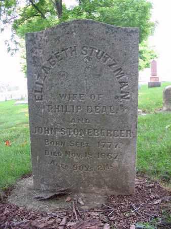 STONEBERGER, JOHN - Montgomery County, Ohio | JOHN STONEBERGER - Ohio Gravestone Photos