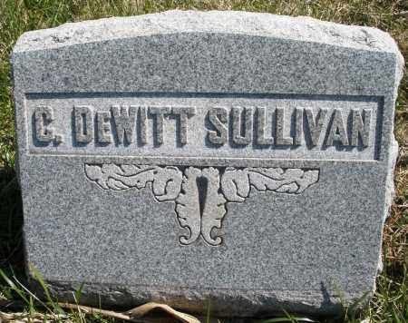 SULLIVAN, G. DEWITT - Montgomery County, Ohio   G. DEWITT SULLIVAN - Ohio Gravestone Photos