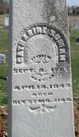 SUMAN, CATHARINE - Montgomery County, Ohio | CATHARINE SUMAN - Ohio Gravestone Photos