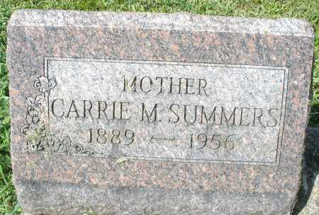 SUMMERS, CARRIE M. - Montgomery County, Ohio | CARRIE M. SUMMERS - Ohio Gravestone Photos