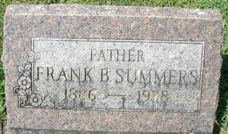 SUMMERS, FRANK B. - Montgomery County, Ohio | FRANK B. SUMMERS - Ohio Gravestone Photos