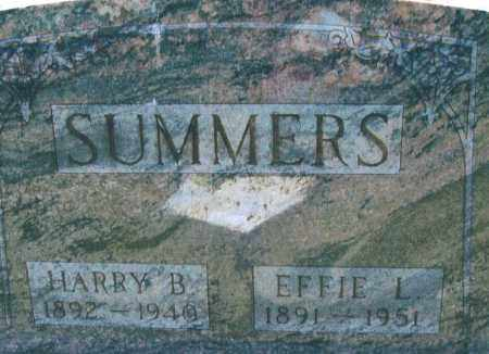 DOWNING SUMMERS, EFFIE L.. - Montgomery County, Ohio | EFFIE L.. DOWNING SUMMERS - Ohio Gravestone Photos