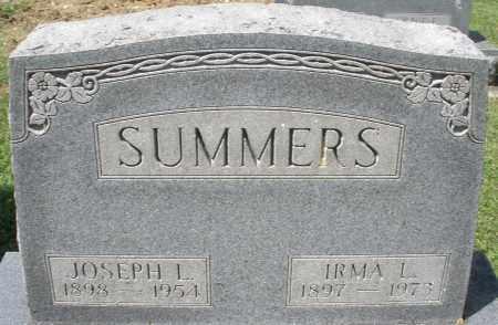 SUMMERS, JOSEPH L. - Montgomery County, Ohio   JOSEPH L. SUMMERS - Ohio Gravestone Photos
