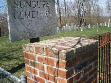 SUNBURY, CEMETERY - Montgomery County, Ohio | CEMETERY SUNBURY - Ohio Gravestone Photos
