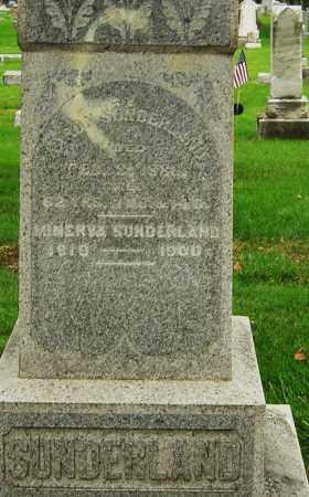 SUNDERLAND, MINERVA - Montgomery County, Ohio | MINERVA SUNDERLAND - Ohio Gravestone Photos