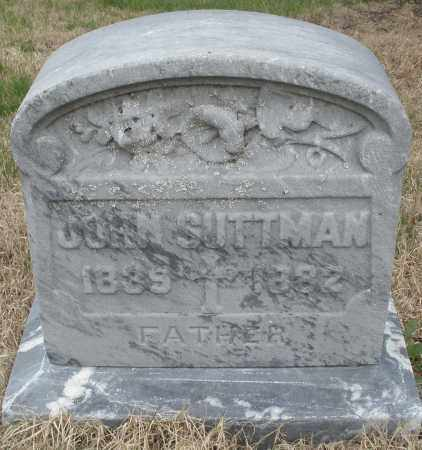 SUTTMAN, JOHN - Montgomery County, Ohio   JOHN SUTTMAN - Ohio Gravestone Photos