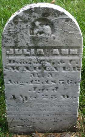 SWADENER, JULIA ANN - Montgomery County, Ohio   JULIA ANN SWADENER - Ohio Gravestone Photos